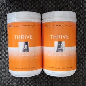 2 New sealed cans for 2 month supply Thrive Level.